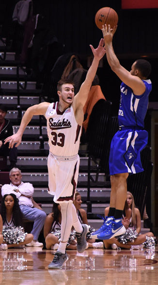 Salukis grind out win against Indiana State