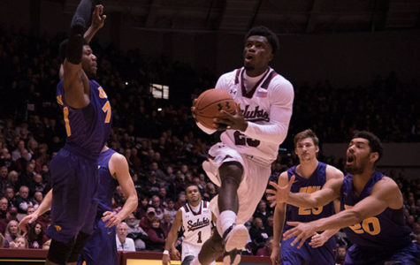 SIU loses first road game of season to Northern Iowa