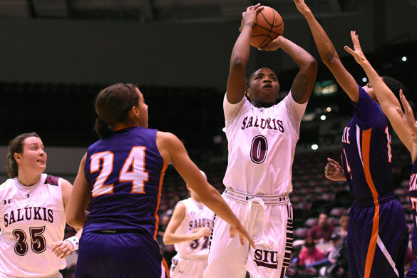 Saluki women look to shock the Shockers on the road