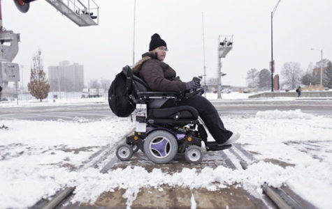 Wheelchairs and worrisome weather