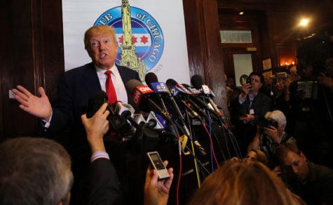 Republican presidential nominee Donald Trump. (TNS)