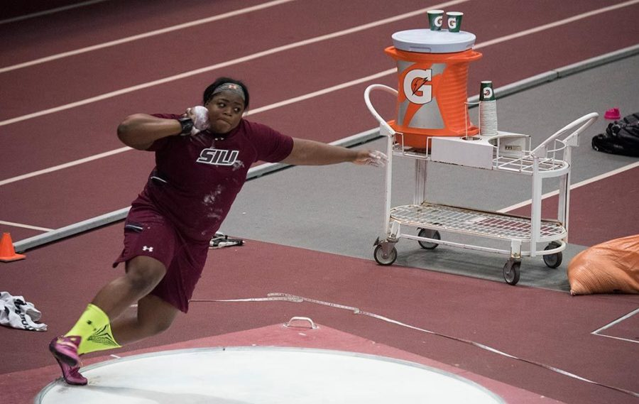 SIU track and field team splits duty, earns wins at separate invitationals