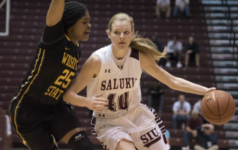 Corrigan's sharp shooting leads SIU women's basketball past Purdue