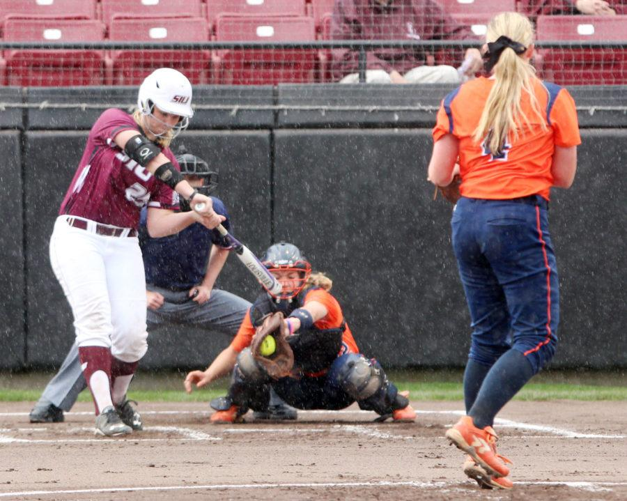 Saluki softball position players mix of youth and experience