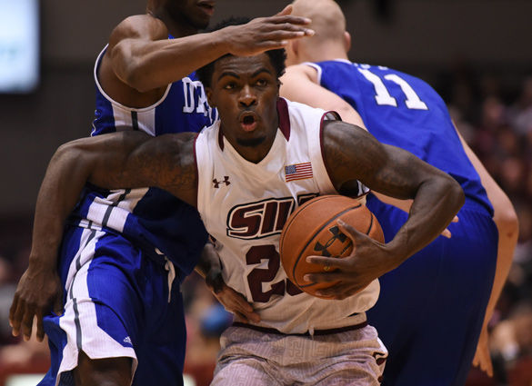 Salukis win battle of the dogs