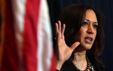 Supreme Court speculation about Kamala Harris shadows Senate bid