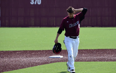 Shockers use experience, big innings to sweep Salukis