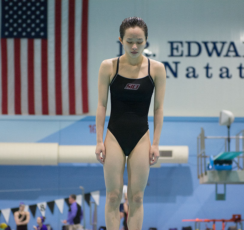 Swim and Dive team leads after Day Two