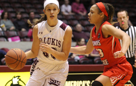 Home cooking fuels Saluki women at Bradley