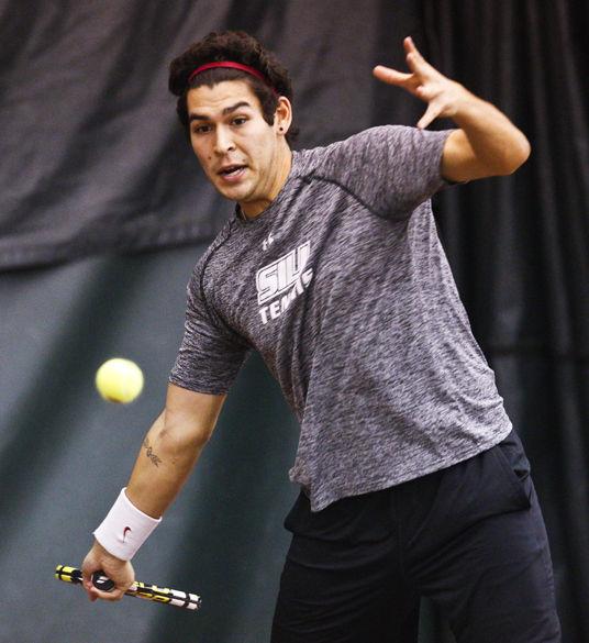 Pozo named MVC men's tennis player of the week