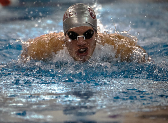 Men's swim and dive team ends Day Two of MAC Championships