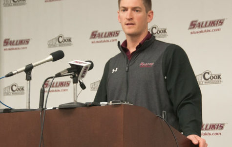 Hill discusses spring practice, announces Du Quoin scrimmage