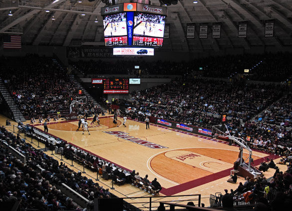 Ranking Saluki Athletics venues