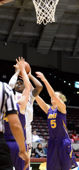 First-place Panthers too much for Saluki women