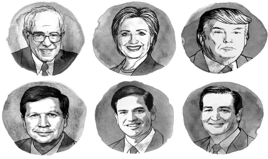In political survivor, best- and worst-case scenarios in Tuesday's primaries