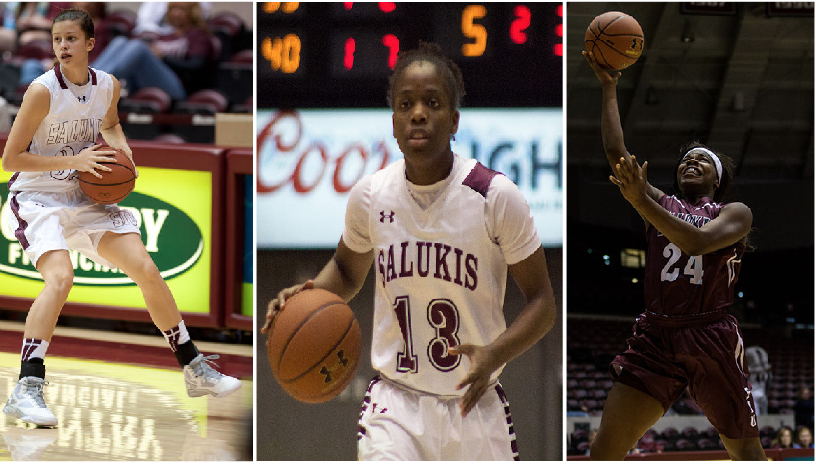 Three Salukis named to academic team