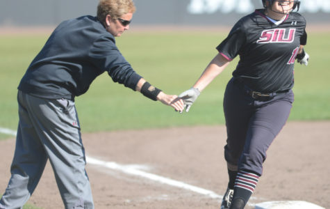 Saluki softball wins home opener against EIU