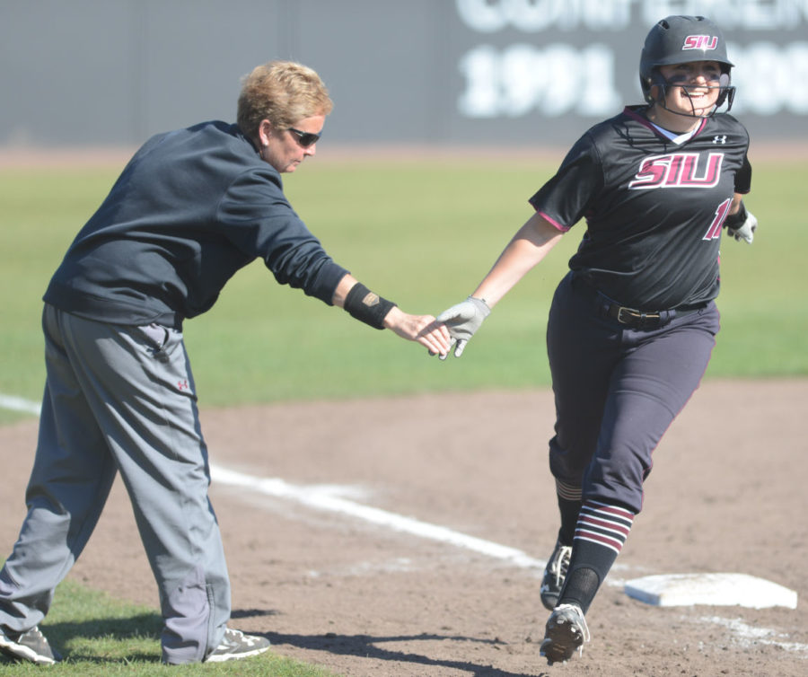 Saluki softball wins home opener against EIU