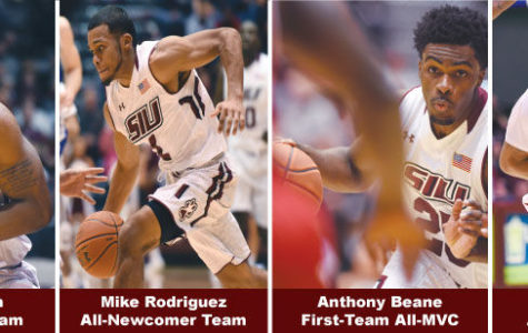 Four Salukis honored by MVC