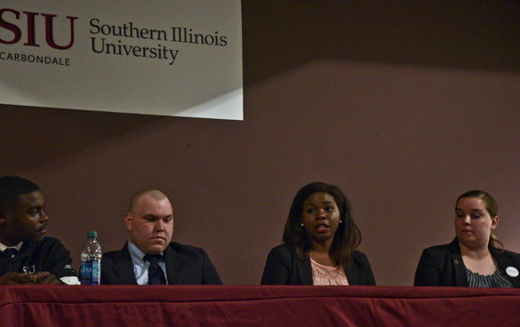 Student trustee candidates face off in first debate