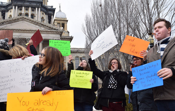 SIU students plan to rally for state budget Wednesday in Springfield