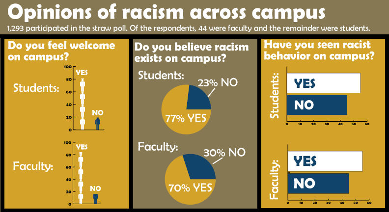 Daily Egyptian poll: The campus community's response to racism
