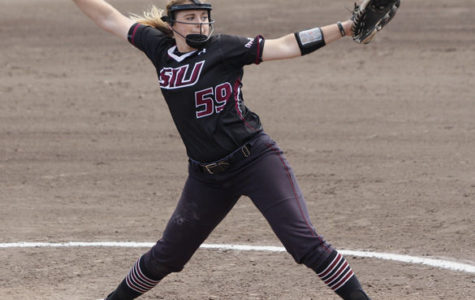 Saluki softball shuts down SLU
