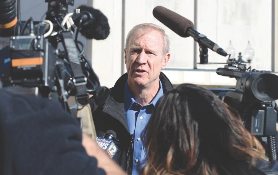 Rauner strikes optimistic tone on 'grand compromise' with Democrats