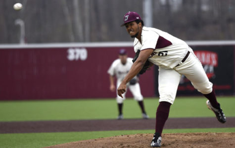 Strong pitching performance secures win for Salukis