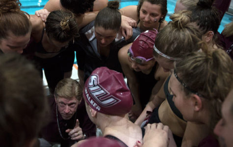 SIU women's swimming and diving voted favorite in MVC preseason coaches poll