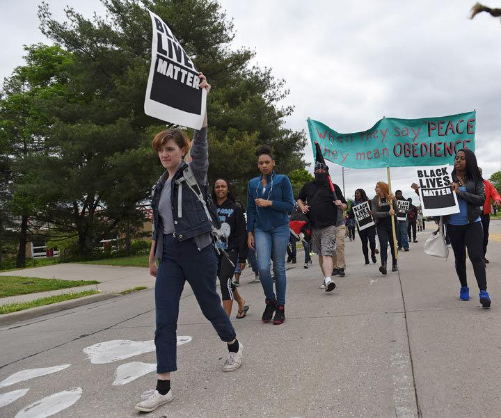 Protests on campus are a sign of progress
