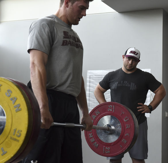 Success Starts In The Weight Room For SIU Baseball