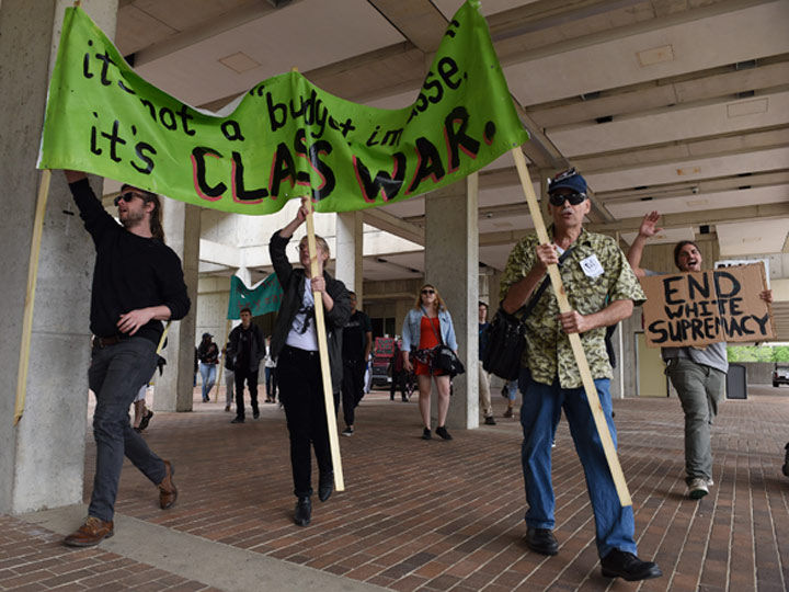 SIU students come together for May 2 peaceful protest