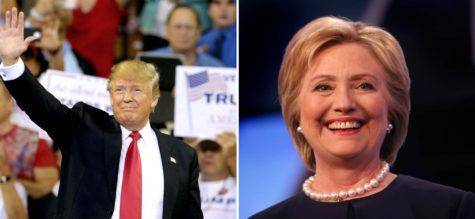 Donald Trump and Hillary Clinton. (TNS)