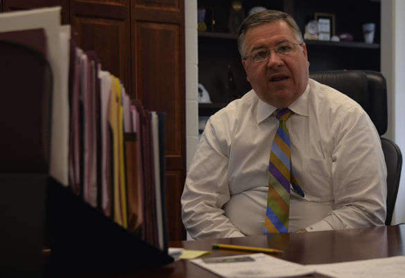 Athletic director reflects on first year on job, budget impasse