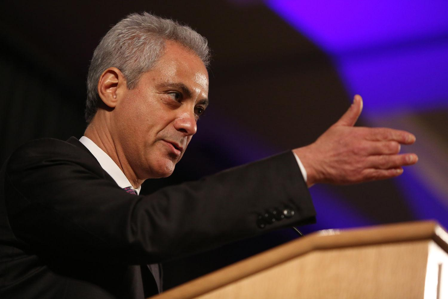 Mayor Rahm Emanuel. (Antonio Perez/Chicago Tribune/TNS)