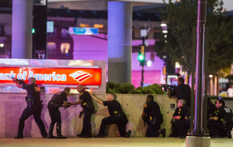 11 officers shot, 4 fatally, during Dallas protest over police shootings