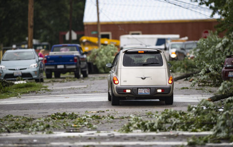 EF1 tornado causes power outage, damage in Metropolis