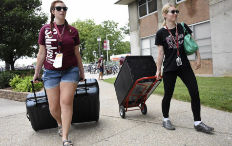 Saluki move-in day in photos