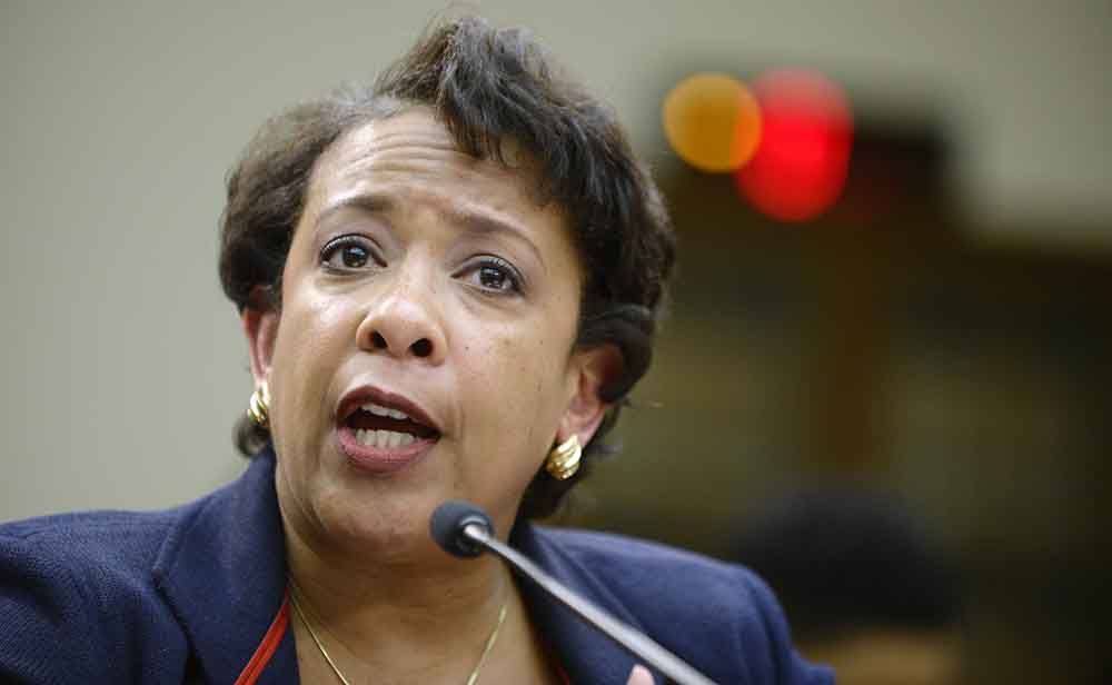 Attorney General Loretta Lynch. (Olivier Douliery/Abaca Press/TNS)