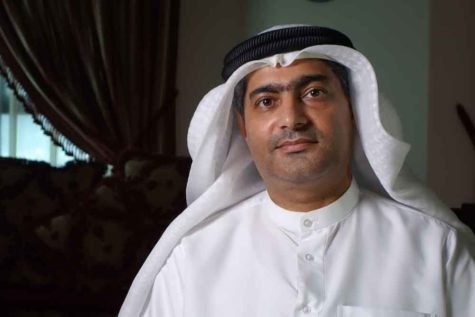Human rights activist Ahmed Mansoor was recently targeted by spyware that can hack into Apple's iPhone handset. The company said Thursday it has updated its security. (Martin Ennals Foundation)