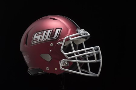 SIU football's new helmets aren't really new