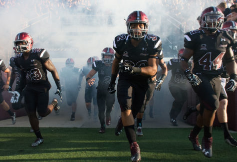 SIU football dominates Murray State in Black Out Cancer game (PHOTOS)