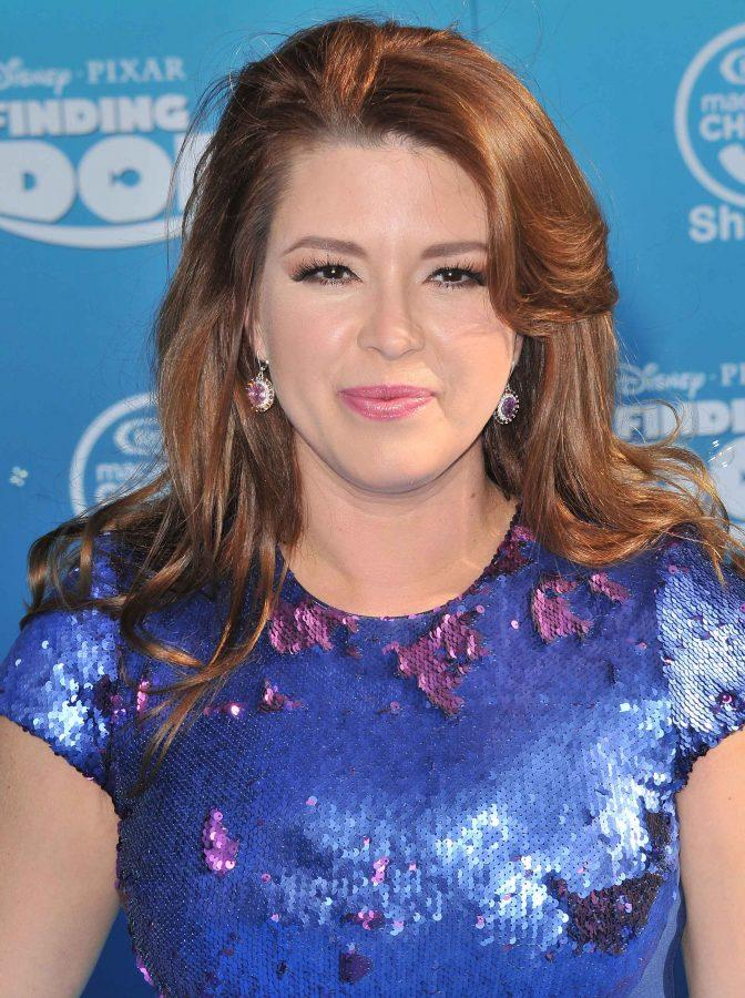 Alicia Machado at the El Capitan Theater in Hollywood on June 8, 2016. The former Miss Universe who had been insulted by Donals Trump, has emerged as a potent advocate for his current political opponent, Hillary Clinton. (Sthanlee B. Mirador/Sipa USA/TNS)