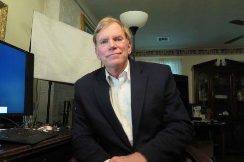 David Duke, the former Ku Klux Klan grand wizard, spoke about his admiration for Donald Trump and his own U.S. Senate campaign on Sept. 19, 2016, at his home in Mandeville, La. (Todd J. Gillman/Dallas Morning News/TNS)