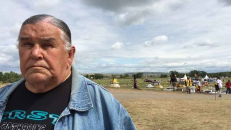 "Clyde Bellecourt, 80, who helped found the American Indian Movement in the 1960s, said he sees ""fresh energy"" among younger Native Americans fighting to stop the Dakota Access pipeline. (William Yardley/Los Angeles Times/TNS)"