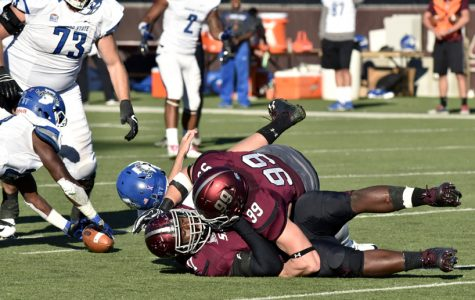 Salukis cut down Sycamores in 45-24 victory