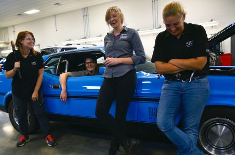 Women in SIU automotive technology steer toward industry equality