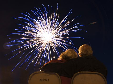 Photo of the Day: Fall fireworks in Olmsted
