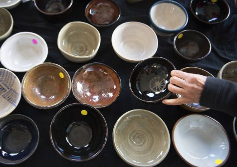 SIU students, community members sell artistic bowls to benefit area soup kitchen
